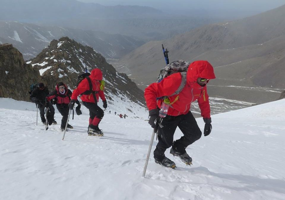 Ascenso al cerro Adolfo Calle 4280 msnm. Mendoza