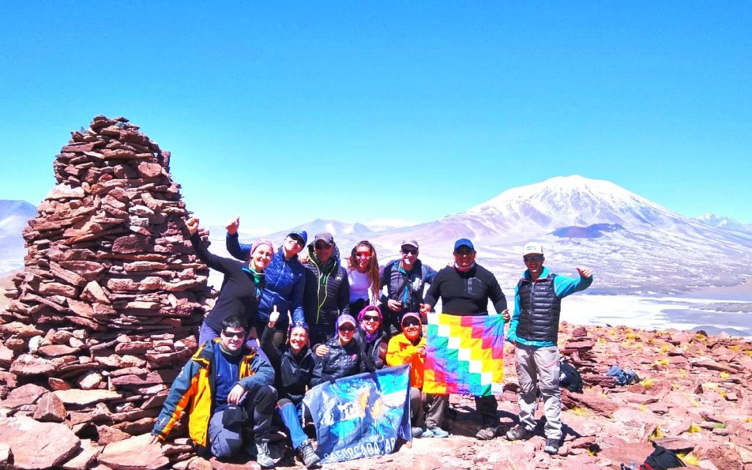 Cerros Falso Morocho 4500 y Coquena 4050 msnm. Catamarca.