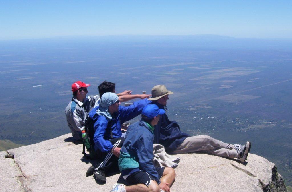 Cerro Champaquí Ruta Sur