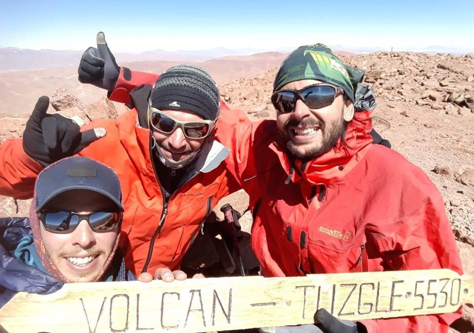 Ascenso Volcanes Tuzgle 5540 y S. Jeronimo 4980. Salta y Jujuy.