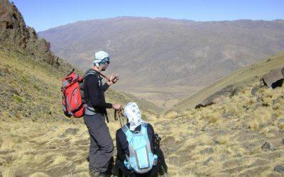 Ascenso al Cerro Negrito 4610 msnm. Tafi. Tucumán.