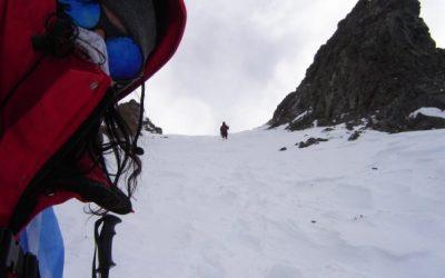 Ascenso al Cerro Rincon 5420 msnm. Cordón del Plata. Mendoza.