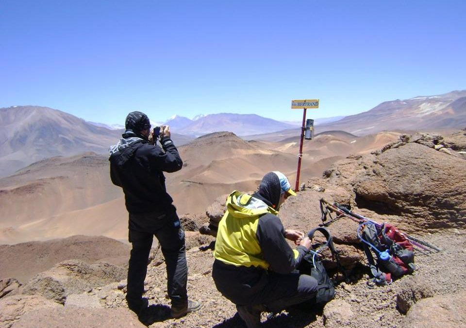 Ascenso al Volcán Bertrand 5330 msnm. Catamarca