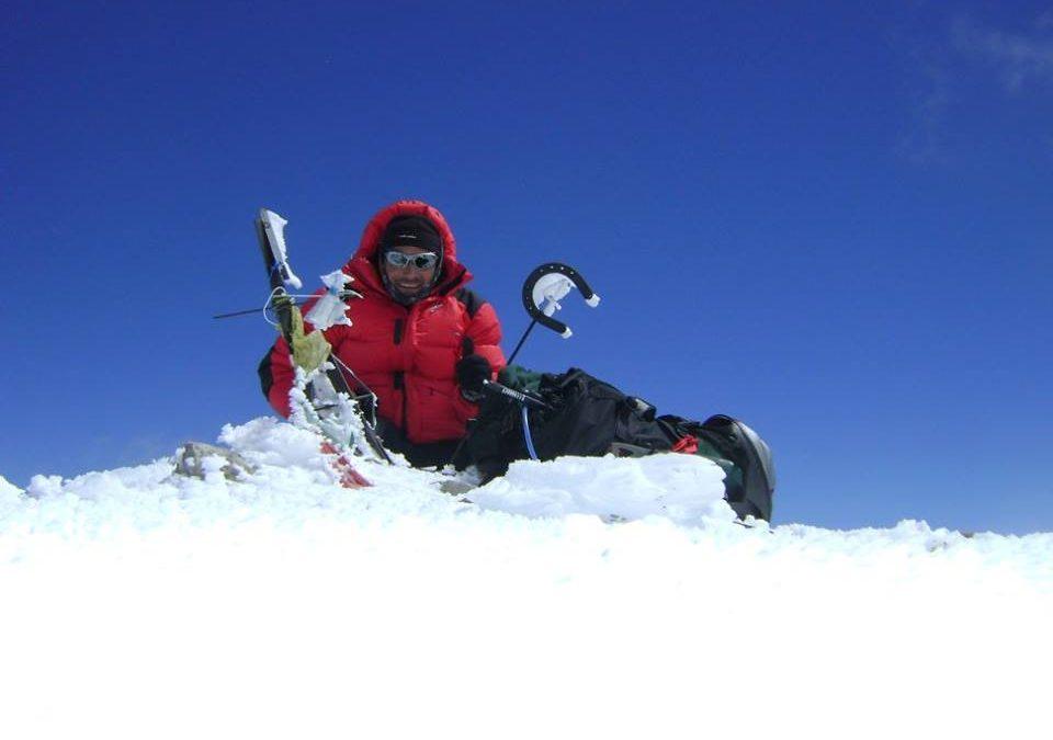 Ascenso al Volcan Domuyo 4709 msnm. Techo de Neuquen