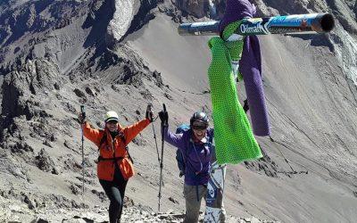 Ascenso al Cerro Bonete 5050 msnm. Aconcagua. Mendoza