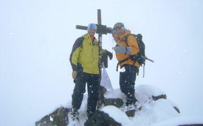 Ascenso al cerro San Bernardo 4180 msnm. Mendoza.