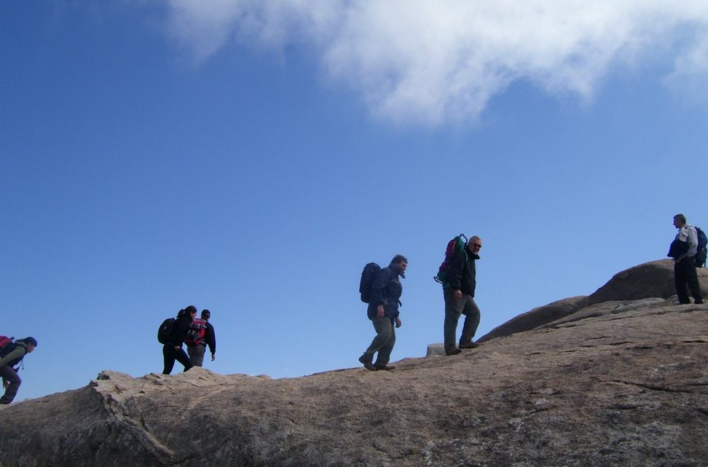 Trekking, ascenso al Cerro Champaqui desde la Cumbrecita. Córdoba