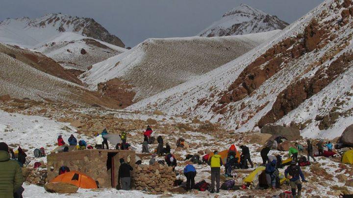 Circunvalación Cerro Penitentes, por el paso Serrata. Mendoza