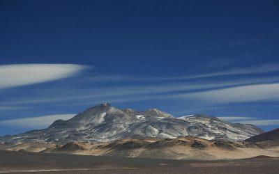 Volcán Ojos del Salado 6853 msnm. Ruta Chilena. Inicio en Argentina.