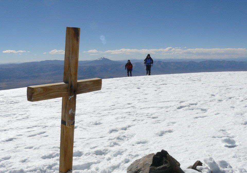 Ascenso al Nevado de Acay 5750 msnm desde San Antonio. Salta