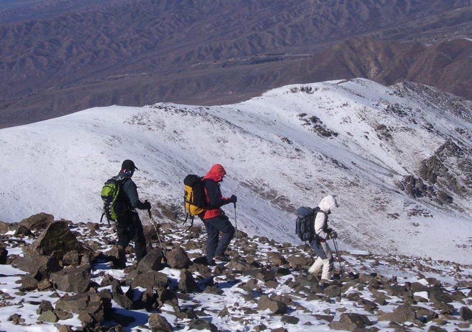 3 cumbres, 4días. Cº Andresito 3200, Arenales 3400 y L. Blancas 3600.