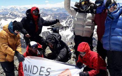 Expedición al Cerro Plata 5968 msnm. Cordon del Plata. Mendoza.