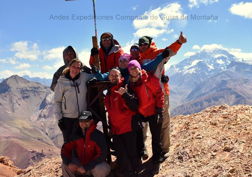 Ascenso al cerro Penitentes 4351 msnm. Mendoza (3días).