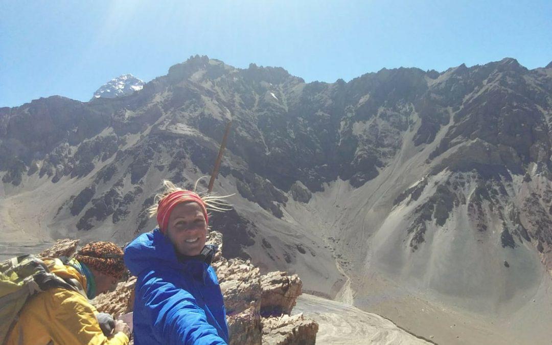 Ascenso al cerro Pedro Zanni 4180 msnm. Mendoza