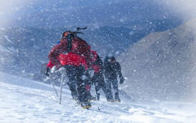 Tradicional invernal al cerro Adolfo Calle 4280 msnm. Mendoza
