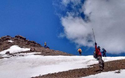Ascenso al Cº Mirador del Tolosa  4114  msnm. Mendoza