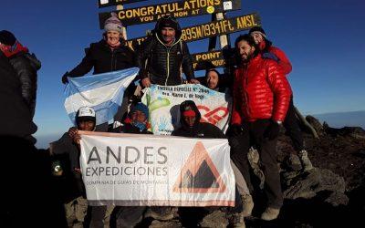 Machame Route. Monte Kilimanjaro 5896 Tanzania. Africa