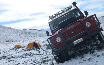 Expedicion al Volcan Walter Penck 6658 msnm. 9ª de America. Catamarca