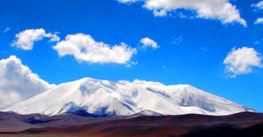 Volcán Barrancas Blancas 6119 msnm. Chile. Inicio Catamarca