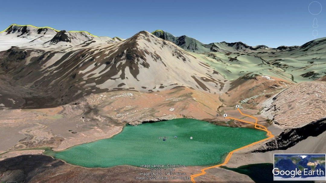 Trekking a las Nacientes del Atuel.  Programa Especial. Mendoza