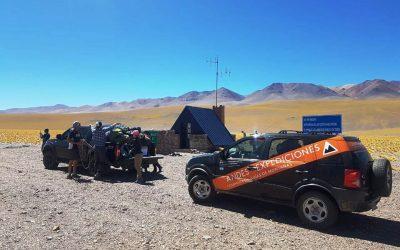 Ascenso al cerro Chucula o Negro Muerto, 5895 msnm. Catamarca.