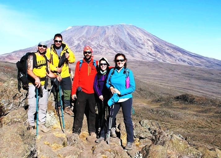 Rongai Route, Monte Kilimanjaro 5896 . Tanzania. Africa