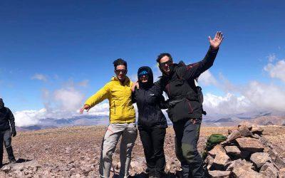 Ascenso al cerro De la Coipa5134. Catamarca. Cortaderas