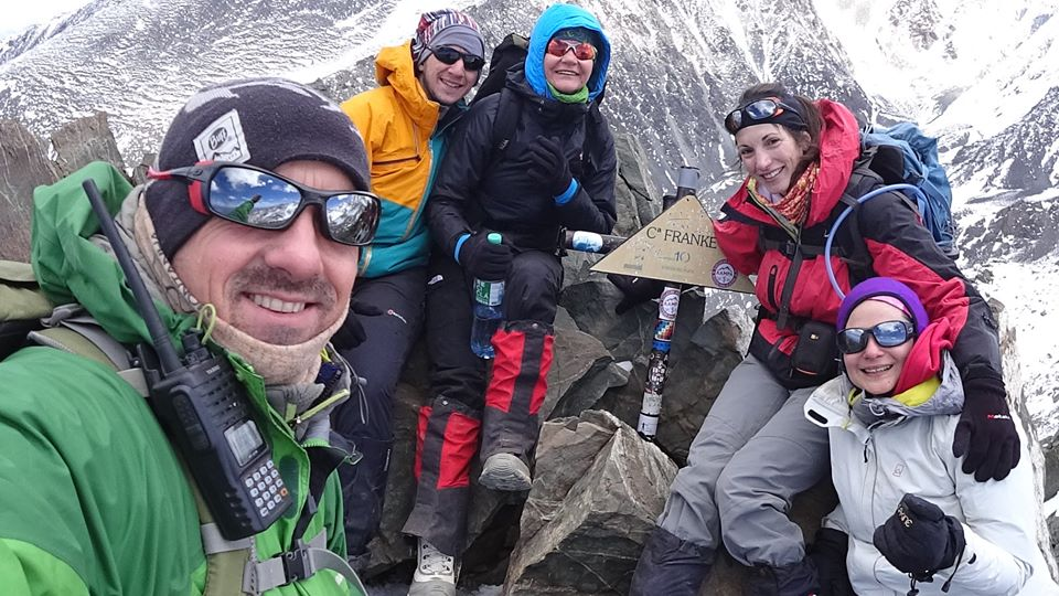Intensivo 4 x 4000. Cerro del Medio, Adolfo Calle, Stepanek y Franke.