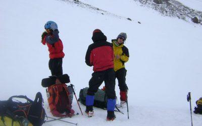 INVERNAL al Cerro Pedro Zanni 4180 msnm. Villa Las Cuevas. Mendoza.