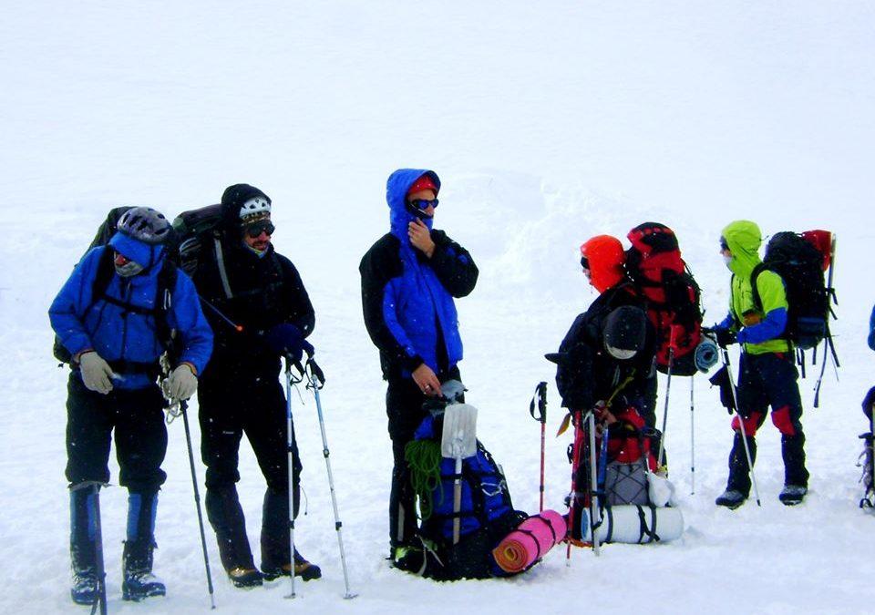 Invernal al Cerro Pedro Zanni 4180 msnm.