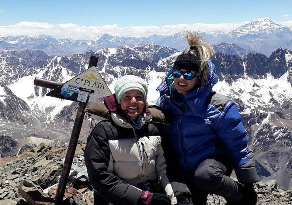 Expedición al cerro Plata 5968. Mendoza.