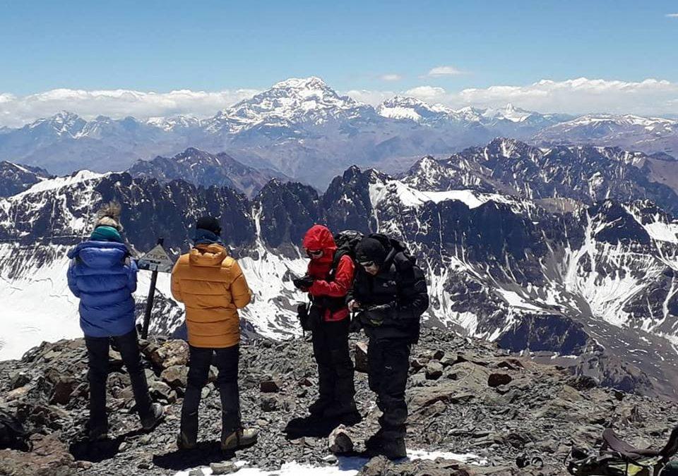 Expedición cerro Plata 5968, o cerro Vallecitos 5450. Mendoza