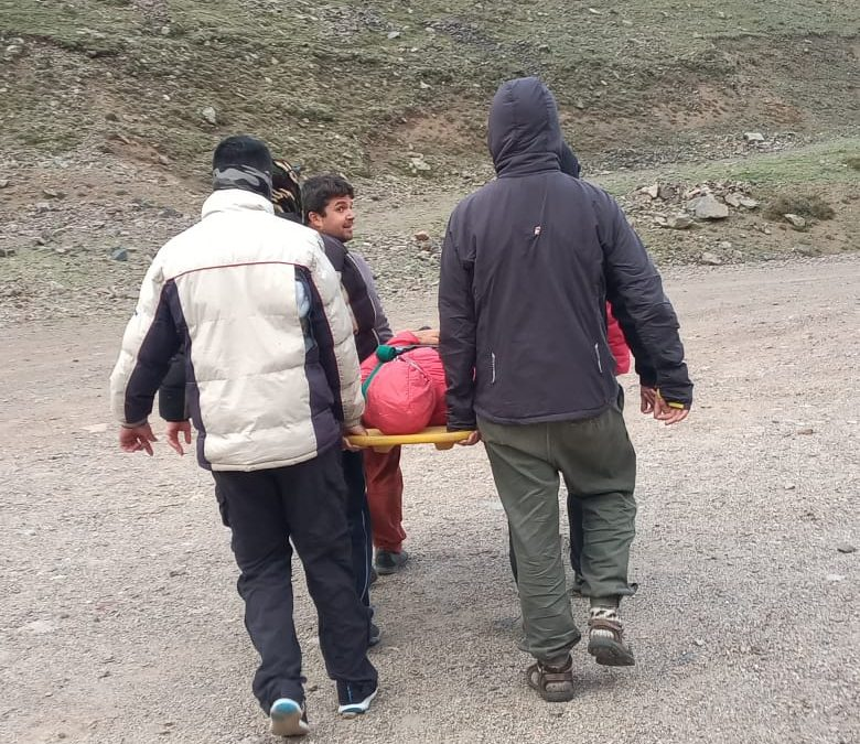 Curso de primeros auxilios para montanismo y deportes de aventura. On line.