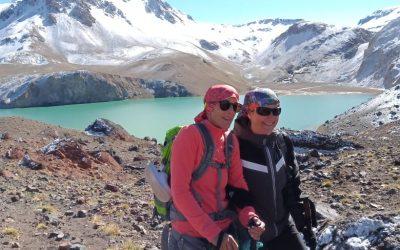 Cabalgata a la laguna y cascada del Atuel y termas de Correa.