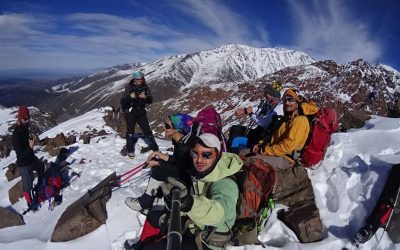 Iniciación en montaña. Cerro Lomas Blancas 3650 msnm