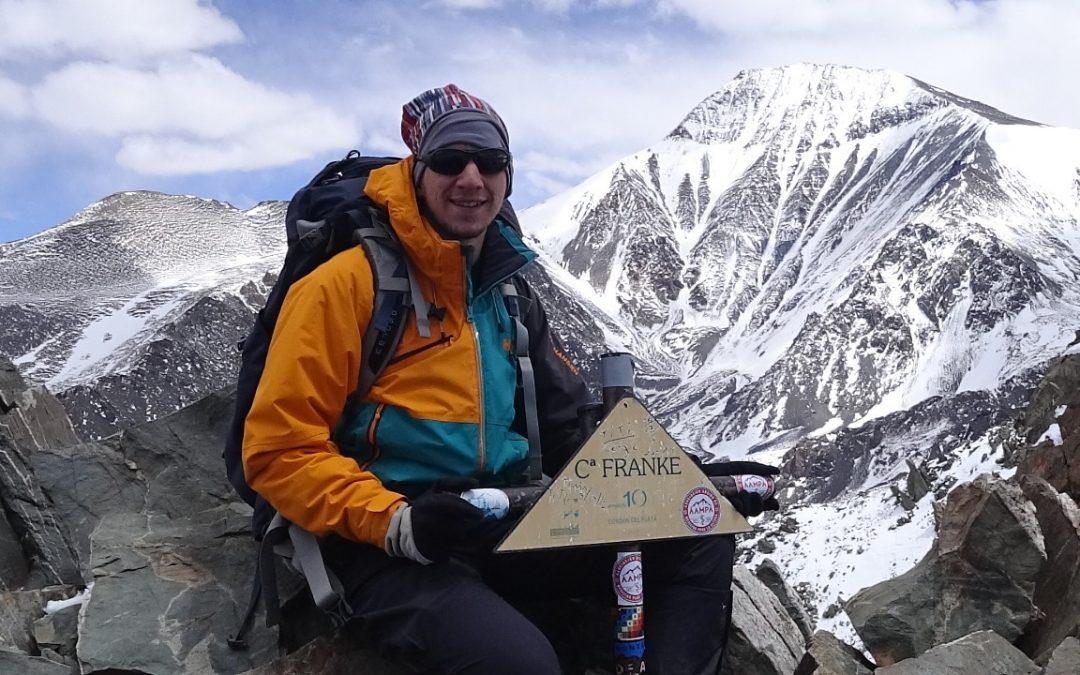 cerro franke andes aconcagua expediciones