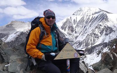 Ascenso al Cerro Franke