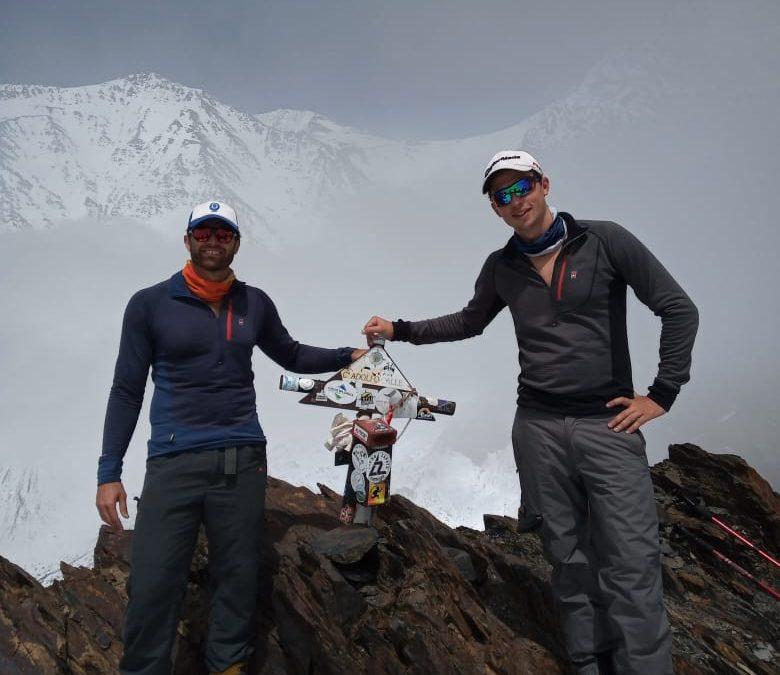 Adolfo Calle Stepanek Andes Aconcagua Expediciones